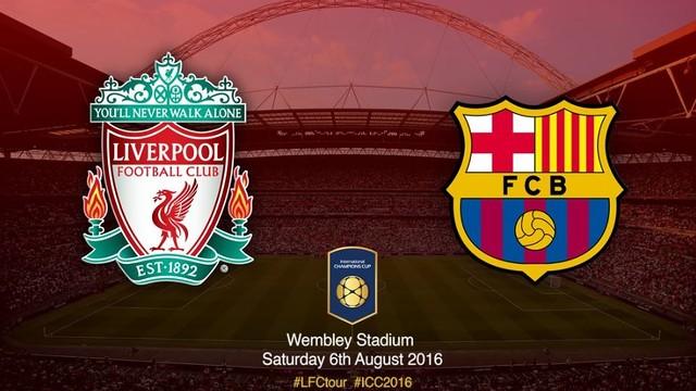 Resultado de imagem para Barcelona vs Liverpool - International Champions Cup