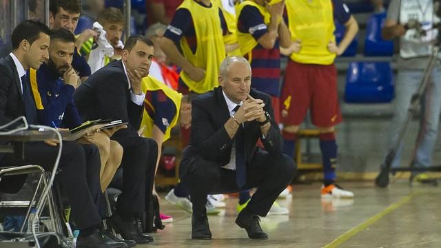 Marc Carmona haurà dirigit el FC Barcelona Lassa durant 11 temporades des de la banqueta culer
