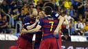 Barça Lassa are now up 1–0 over Magna Gurpea in the semi-finals. / MIGUEL RUIZ - FCB
