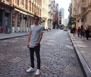 Sergi Roberto, em Nova York