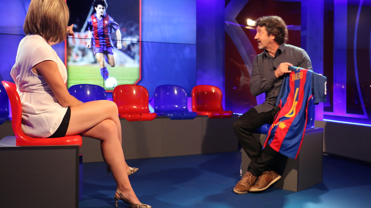 Jose Mari Bakero en la Hora B de Barça TV / FCB