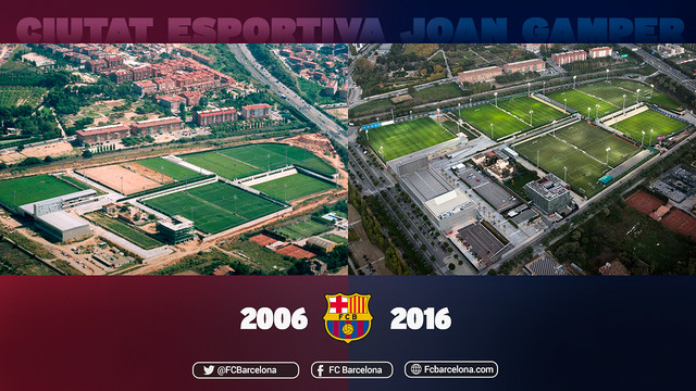 The installations in Sant Joan Despí host a lot more than just the first-team's training centre. / FCB