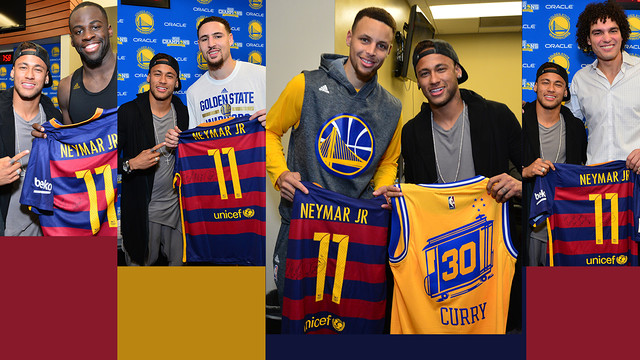 Neymar ha visitado a Curry 70b948f1f13