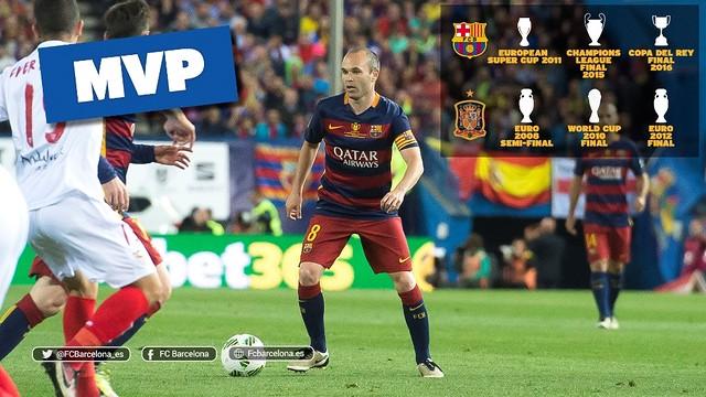 Iniesta MVP